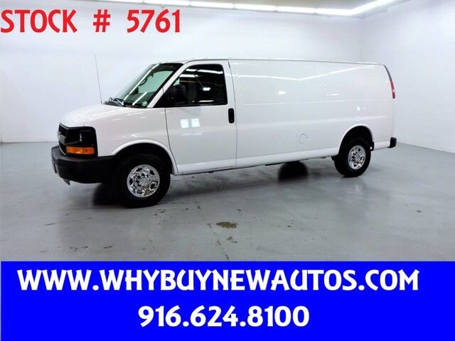 2014 Chevrolet Express 3500 ~ Extended Length ~ Only 71K Miles! Rocklin CA