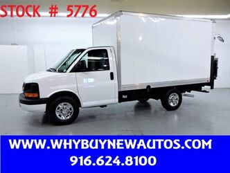 Chevrolet Express 3500 ~ Liftgate ~ 12ft Box Van ~ Only 60K Miles! 2014