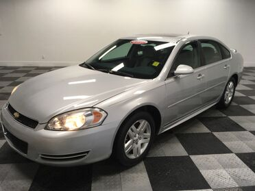 2014_Chevrolet_Impala Limited (fleet-only)_LT_ Chattanooga TN