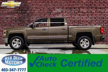 2014_Chevrolet_Silverado 1500_4x4 Crew Cab LTZ Z71 Leather Roof Nav BCam_ Red Deer AB