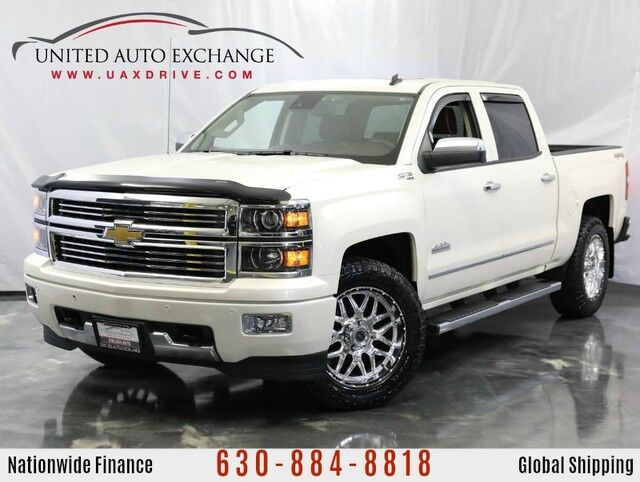 2014 Chevrolet Silverado 1500 6.1L Ecotec3 V8 Engine 4X4 High Country w/ Navigation, Bluetooth Connectivity, Power Sunroof, Bose Premium Sound System, Driver Alert Package, 8inch Touchscreen Addison IL