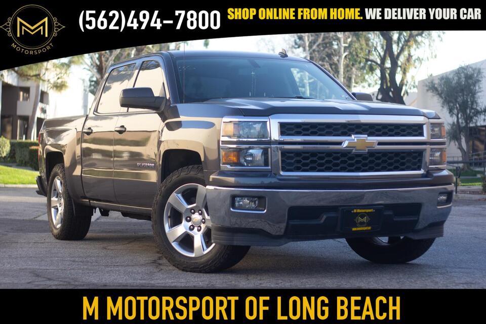 2014_Chevrolet_Silverado 1500 Crew Cab_LT Pickup 4D 6 1/2 ft_ Long Beach CA