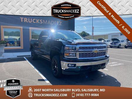 2014_Chevrolet_Silverado 1500_LT LT1 4WD ** Certified 6 Months / 6,000  **_ Salisbury MD