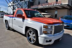2014_Chevrolet_Silverado 1500_LT Regular Cab Lowered Suspension_ San Antonio TX