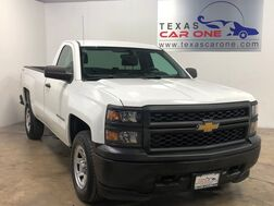 2014_Chevrolet_Silverado 1500_WORK TRUCK REGULAR CAB LONG BOX 4WD AUTOMATIC CRUISE CONTROL TOWING HITCH_ Carrollton TX