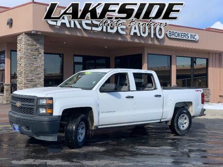 2014 Chevrolet Silverado 1500 Work Truck 2WT Crew Cab 4WD Colorado Springs CO