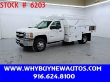 2014_Chevrolet_Silverado 3500HD_~ 12ft Contractor Bed ~ Only 65K Miles!_ Rocklin CA