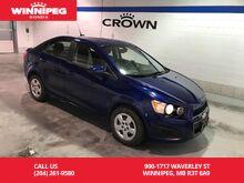 2014_Chevrolet_Sonic_LS Auto/Air conditioning/Economic/Great car!_ Winnipeg MB