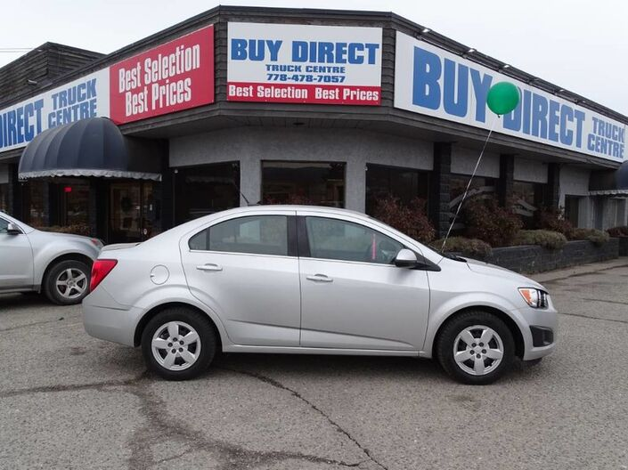 2014 Chevrolet Sonic LT, Low KM's, Power Locks and Windows, Cruise Control Kelowna BC