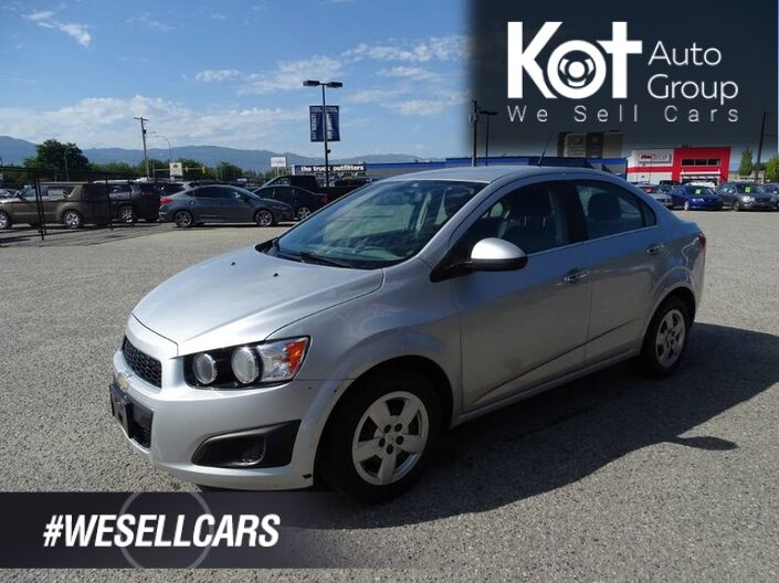 2014 Chevrolet Sonic LT, No Accidents! Kelowna BC