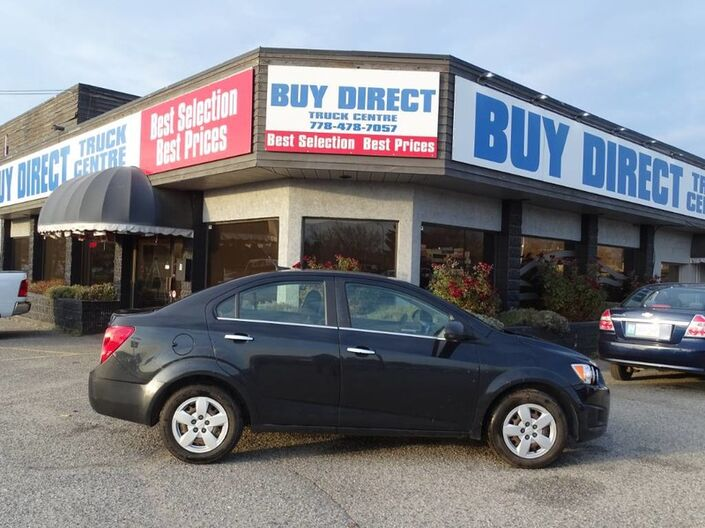 2014 Chevrolet Sonic LT Perfect First Car! Well Maintained, Fully Serviced Kelowna BC