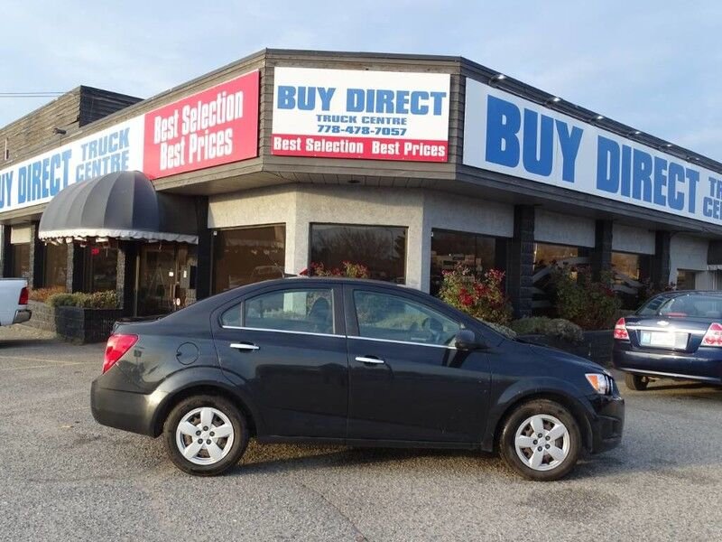 2014 Chevrolet Sonic LT Perfect First Car! Well Maintained, Fully Serviced Penticton BC