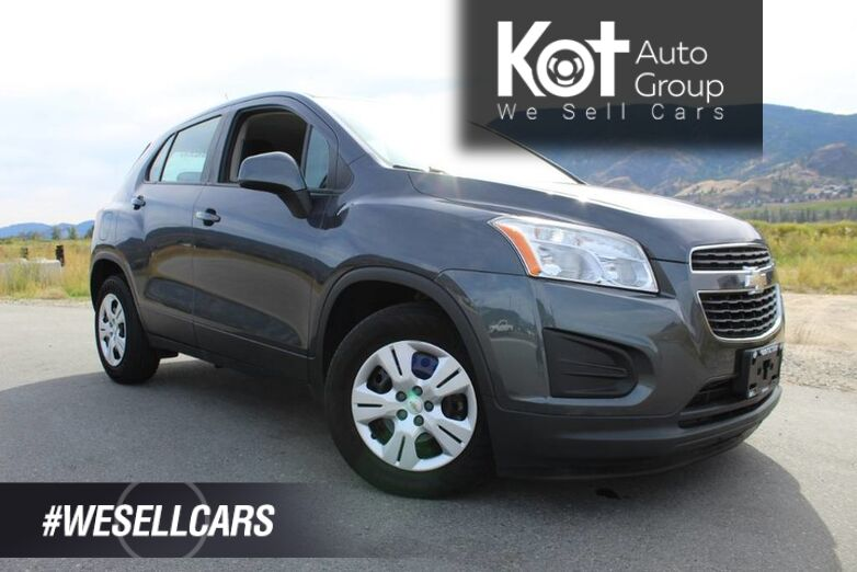 2014 Chevrolet Trax FWD LS, Great on Fuel, No Accidents Kelowna BC