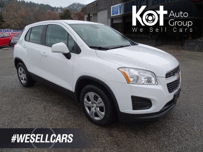 2014 Chevrolet Trax LS, No Accidents, Vehicle Regularly Serviced Penticton BC