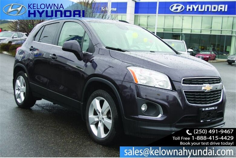 2014 Chevrolet Trax LTZ No accident One owner Kelowna BC