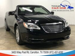 2014_Chrysler_200 Convertible_TOURING POWER DRIVER SEAT CRUISE CONTROL ALLOY WHEELS LEATHER ST_ Carrollton TX