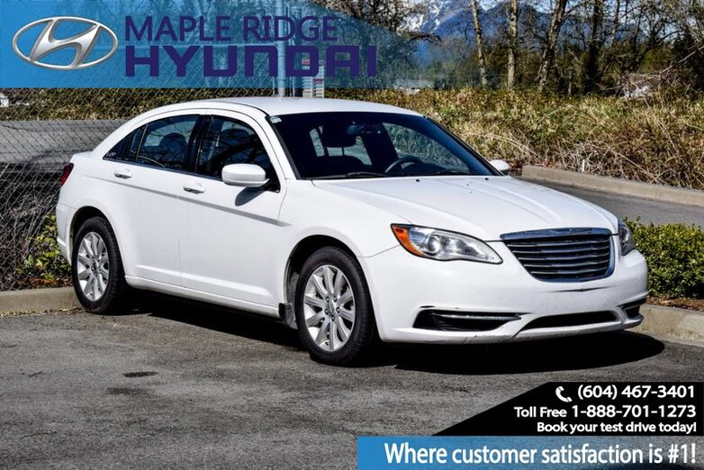 2014 Chrysler 200 LX Remote Keyless Entry, No Accidents, Air Conditioning Maple Ridge BC