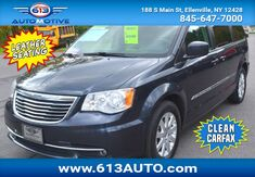 2014_Chrysler_Town & Country_Touring 3rd Row Seating 7 Passenger Leather Seats_ Ulster County NY