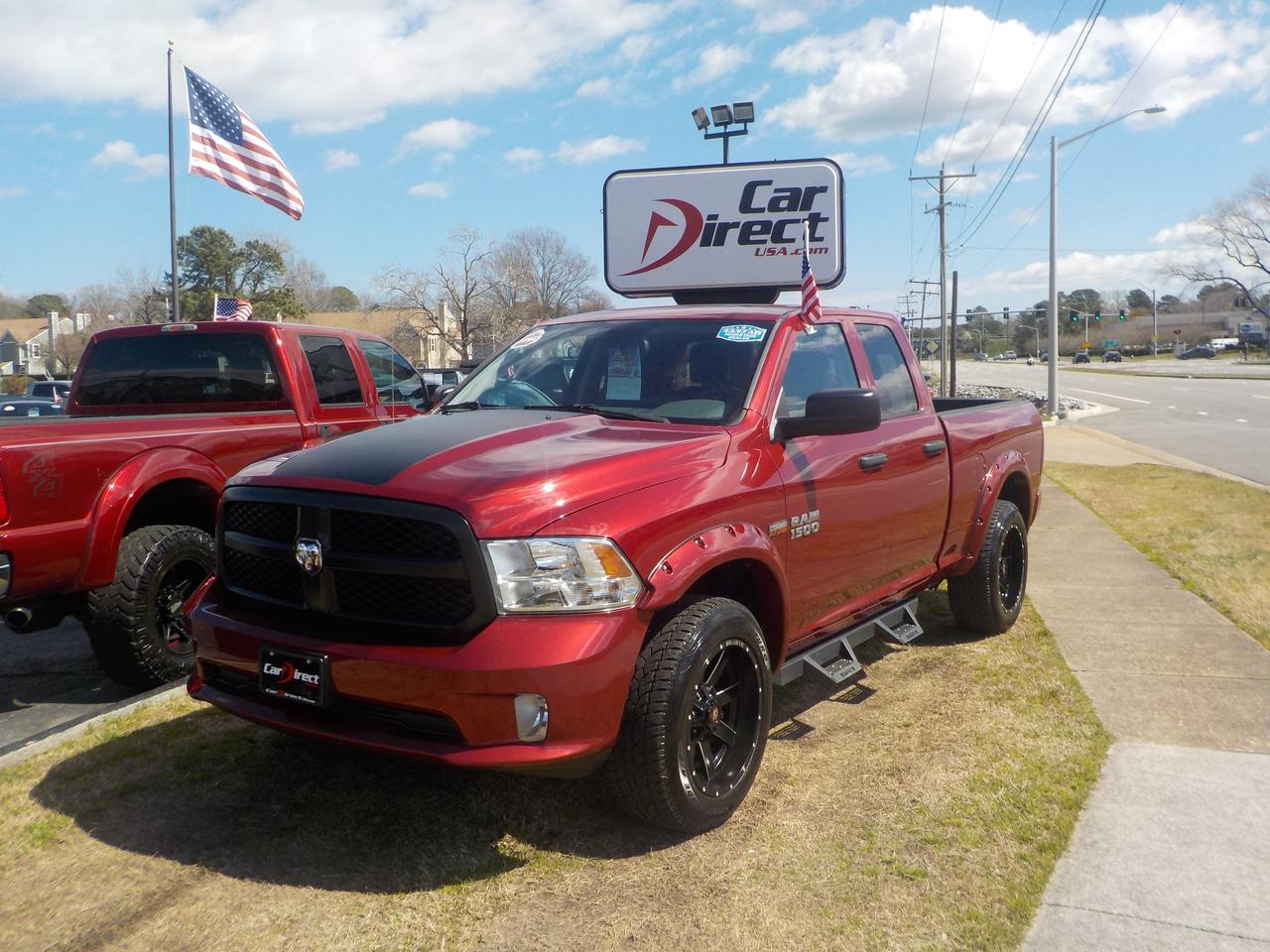 2014 Dodge Ram 1500 Express Quad Cab 4wd Warranty Lifted