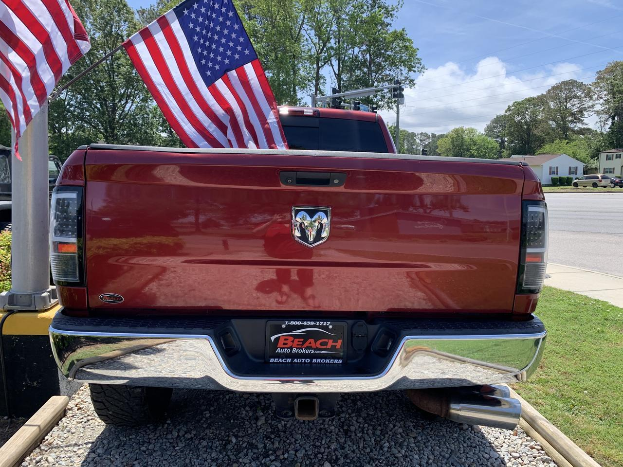 2014 DODGE RAM 2500 BIG HORN MEGA CAB 4X4, WARRANTY, LIFTED, HEATED FRONT SEATS, BLUETOOTH, UCONNECT, 1 OWNER! Norfolk VA