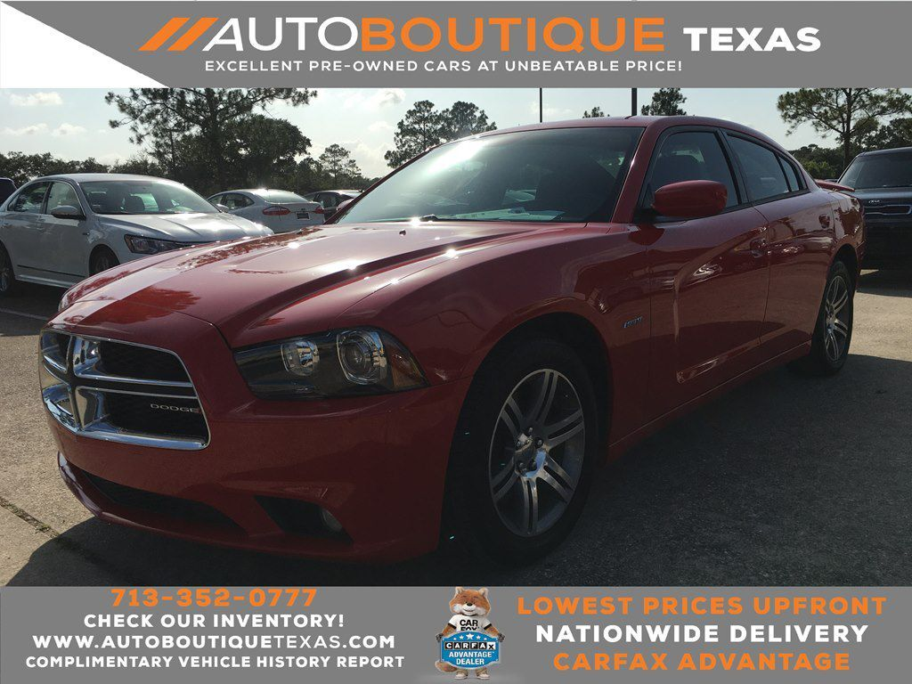 2014 DODGE CHARGER R/T R/T Houston TX