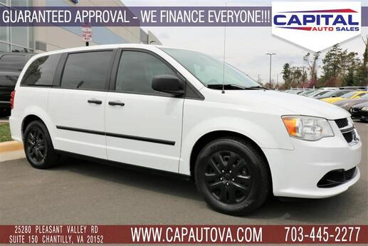 2014 DODGE GRAND CARAVAN American Value Pkg Chantilly VA