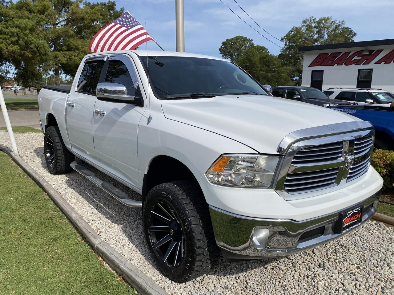 2014 DODGE RAM 1500 BIG HORN CREW CAB 4X4, WARRANTY, BLUETOOTH, BACKUP CAM, PARKING SENSORS, TOW PKG, SIRIUS RADIO! Norfolk VA