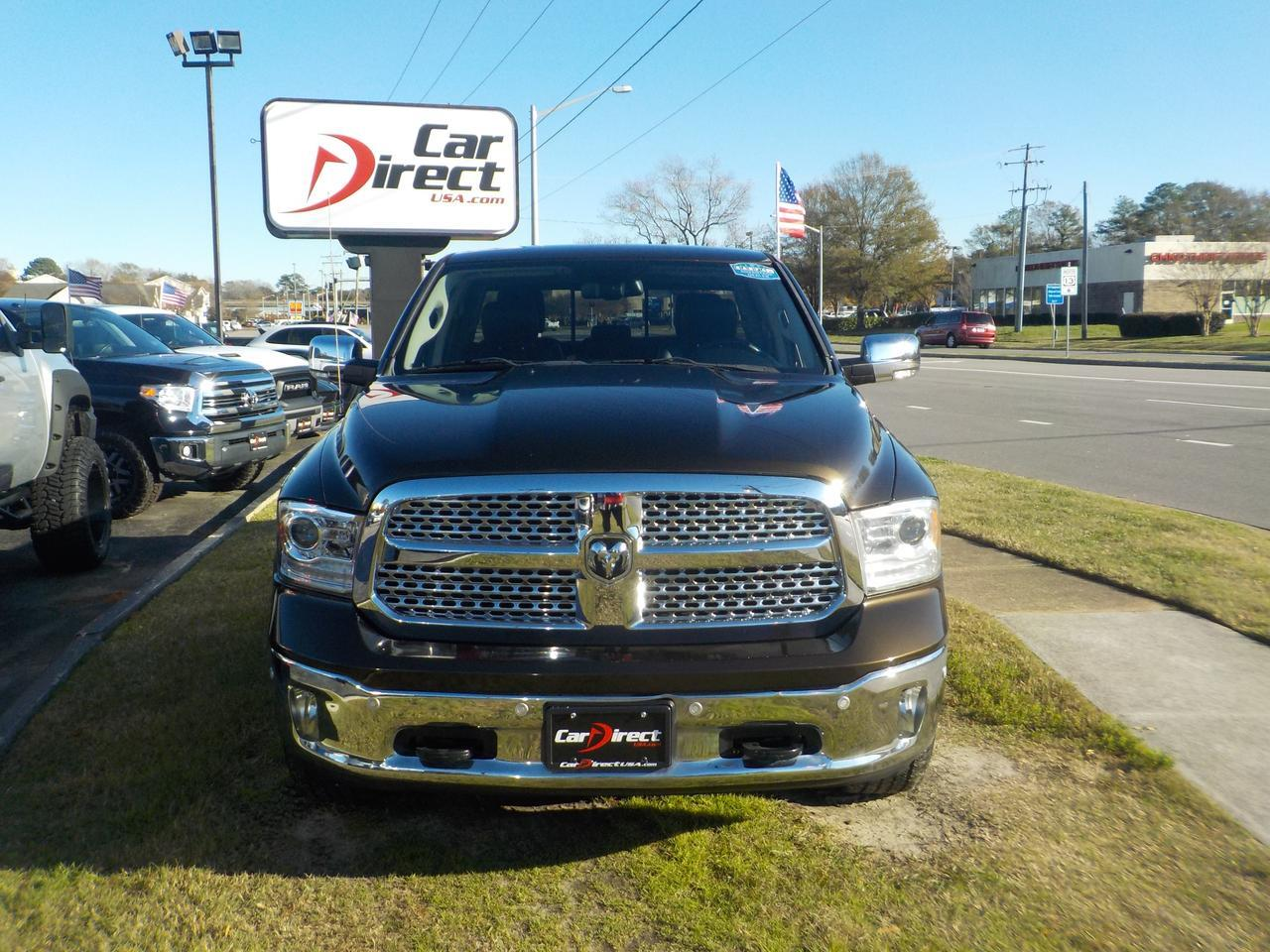 2014 DODGE RAM 1500 LARAMIE QUAD CAB 4X4, LEATHER, REMOTE START, BACKUP CAMERA, TOW PACKAGE, BLUETOOTH, EXTRA CLEAN! Virginia Beach VA