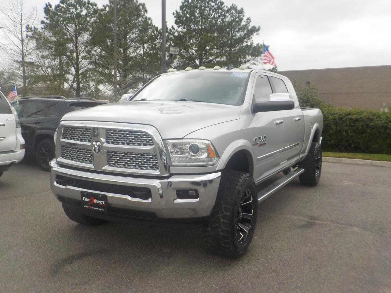 2014 DODGE RAM 2500 MEGA CAB LARAMIE 4X4, ONE OWNER, DIESEL, LEATHER, NAVIGATION, TOW PACKAGE, ONLY 43K MILES! Virginia Beach VA