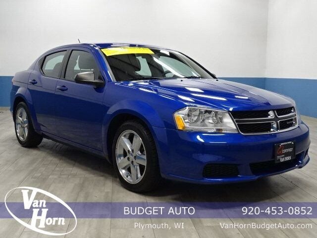 2014 Dodge Avenger SE Plymouth WI