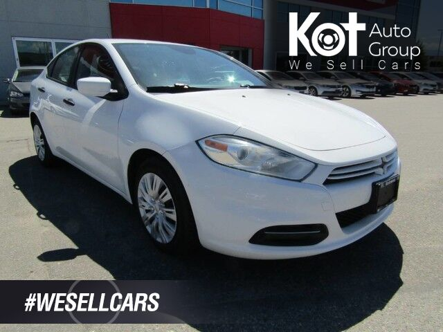 2014 Dodge DART SE! MANUAL! FULLY INSPECTED! REMOTE KEYLESS ENTRY! CRAZY LOW PAYMENTS! Kelowna BC