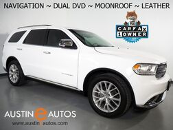 2014_Dodge_Durango Citadel_*NAVIGATION, REAR DUAL DVD, BACKUP-CAMERA, COLOR TOUCH SCREEN, MOONROOF, LEATHER, CLIMATE SEATS, 20 INCH WHEELS, PREMIUM AUDIO, BLUETOOTH_ Round Rock TX