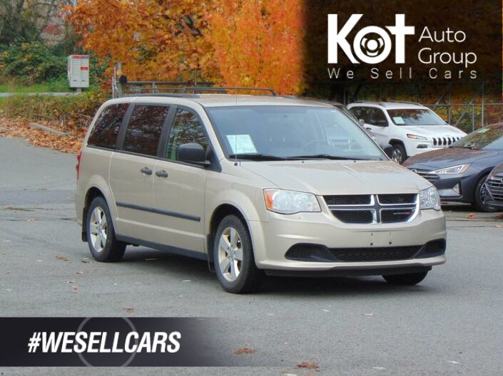 2014 Dodge Grand Caravan 30TH ANNIVERSARY! GREAT PAYMENTS! FAMILY VEHICLE! LOTS OF SPACE! Kelowna BC