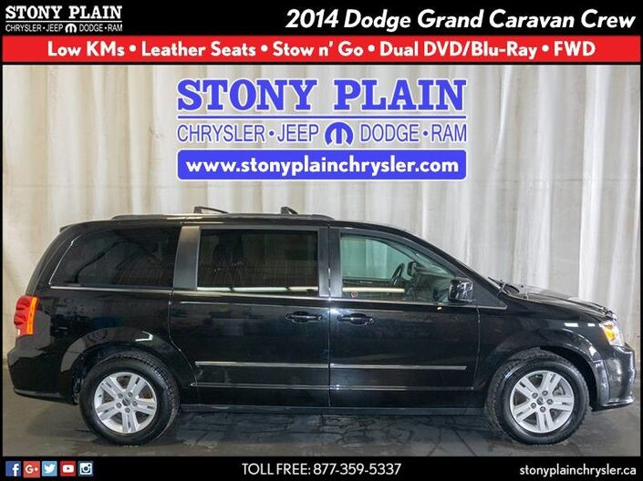 2014 Dodge Grand Caravan Crew Stony Plain AB
