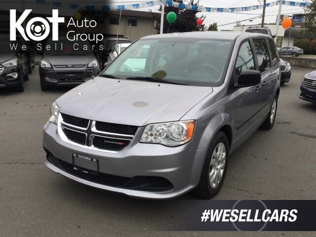 2014 Dodge Grand Caravan SE! GREAT FAMILY VEHICLE! LOW PAYMENTS! FULL STOW & GO! Victoria BC
