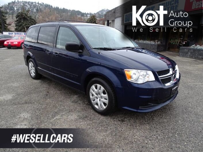2014 Dodge Grand Caravan SE, No Accidents! Kelowna BC