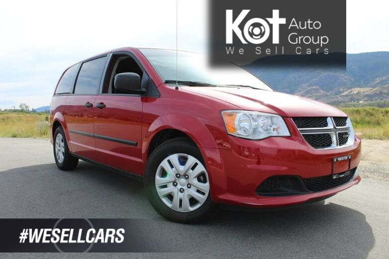 2014 Dodge Grand Caravan SE, Tons of Storage, Stow-N-Go Seats, Great Family Vehicle Kelowna BC