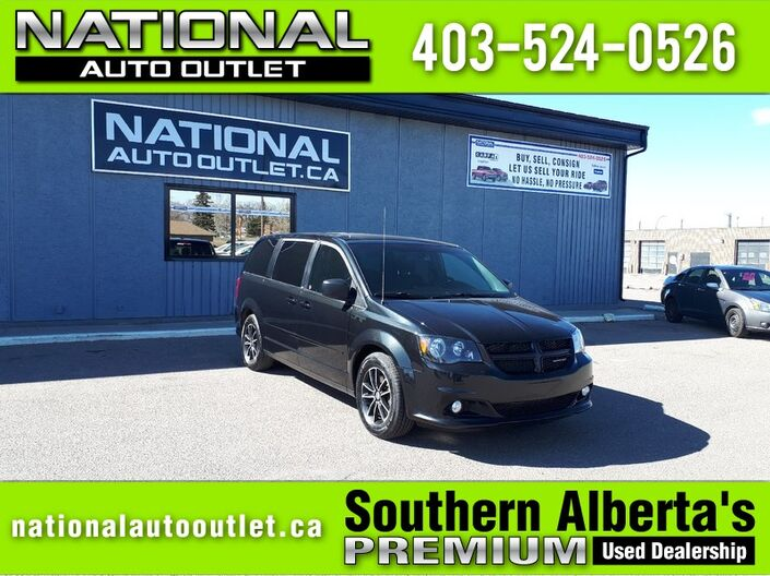 2014 Dodge Grand Caravan SXT - BLACK TOP EDITION - DVD- STOW AND GO Lethbridge AB