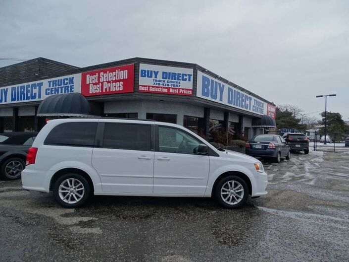 2014 Dodge Grand Caravan SXT Back-up Cam, Low KMs Kelowna BC
