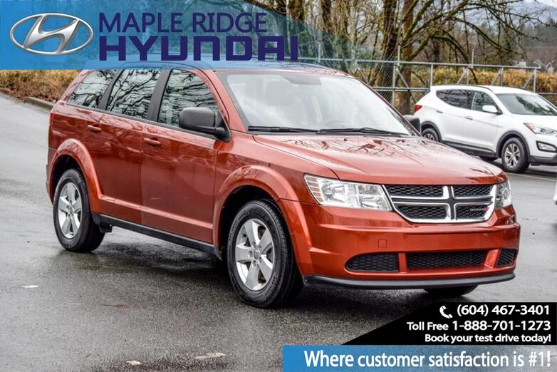 2014 Dodge Journey FWD 4dr Canada Value Pkg Maple Ridge BC