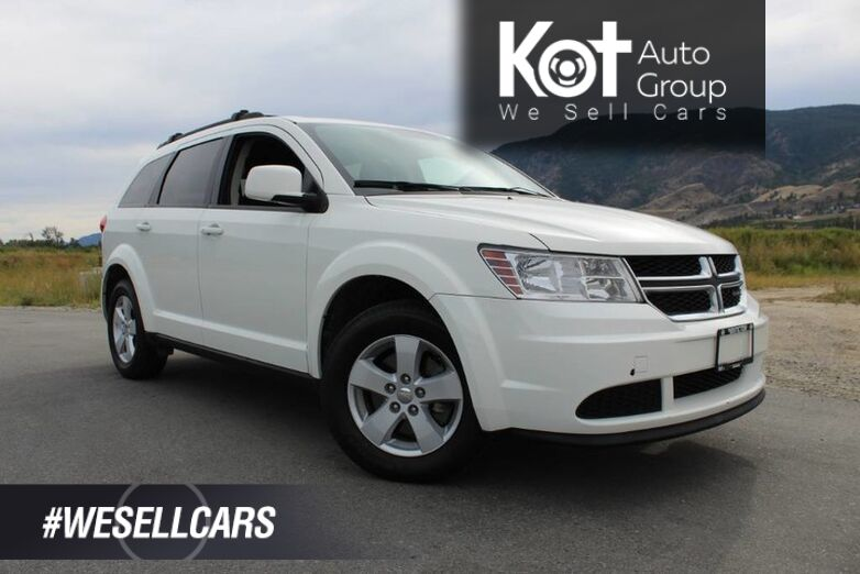 2014 Dodge Journey FWD, SE Plus, No Accidents, Perfect Family Vehicle Kelowna BC