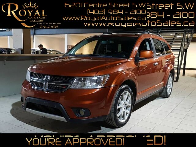 2014_Dodge_Journey_R/T w/ NAVIGATION, DVD PLAYER, TOUCHSCREEN_ Calgary AB