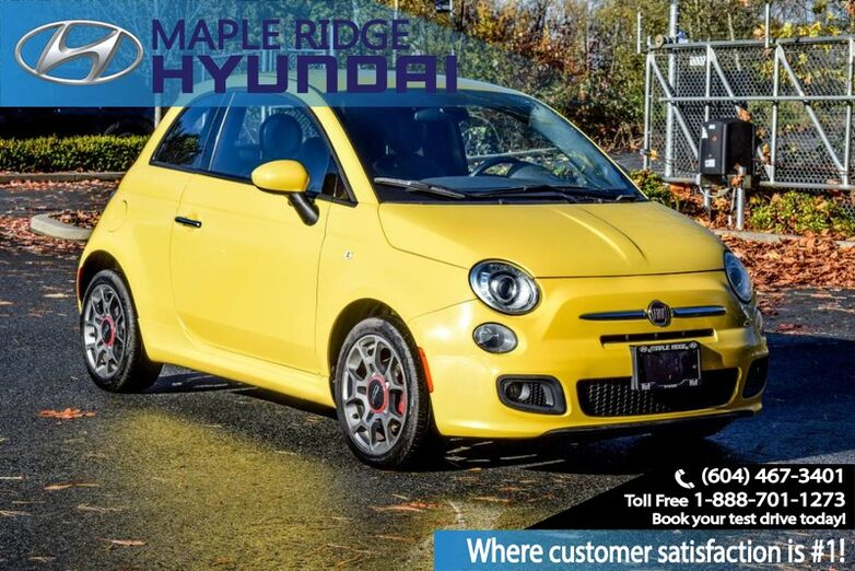2014 FIAT 500 Sport, Auto, Power Group, Alloy Wheels Maple Ridge BC