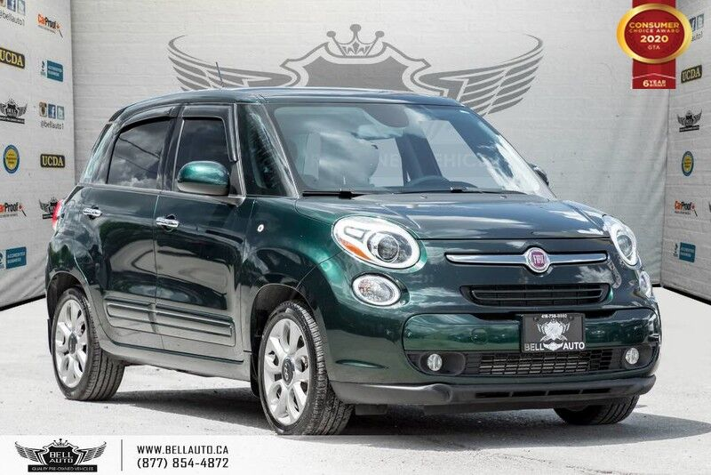 2014 FIAT 500L Sport, NO ACCIDENT, PANO ROOF, HEATED SEAT, BLUETOOTH
