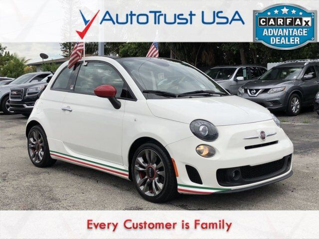 2014 FIAT 500c Abarth GQ Edition Miami FL