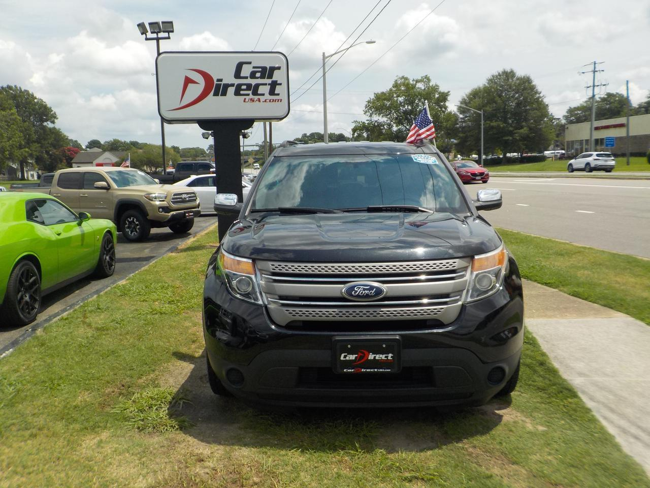 2014 FORD EXPLORER FWD, ROOF RACKS, 3RD ROW SEATING, AUTOMATIC HEADLIGHTS, KEYLESS ENTRY, TOW, AUXILIARY PORT! Virginia Beach VA