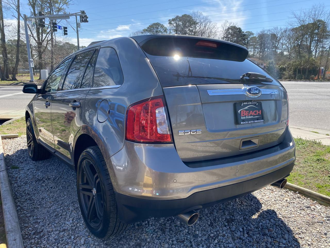 2014 FORD EDGE LIMITED, WARRANTY, LEATHER, NAV, HEATED/COOLED SEATS, BACKUP CAM, PARKING SENSROS, CLEAN CARFAX! Norfolk VA