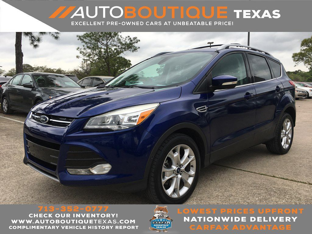 2014 FORD ESCAPE TITANIUM TITANIUM Houston TX