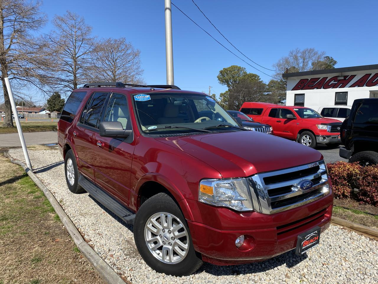 2014 FORD EXPEDITION XLT, WARRANTY, 3RD ROW, RUNNING BOARDS, TOW PACKAGE, KEYLESS START, CLEAN CARFAX! Norfolk VA