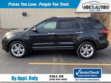 2014 FORD EXPLORER LIMITED Toledo OH